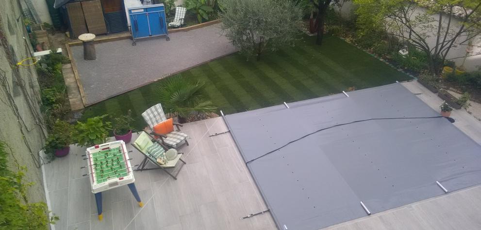 Construction d'une piscine paysagère Lyon 3ème